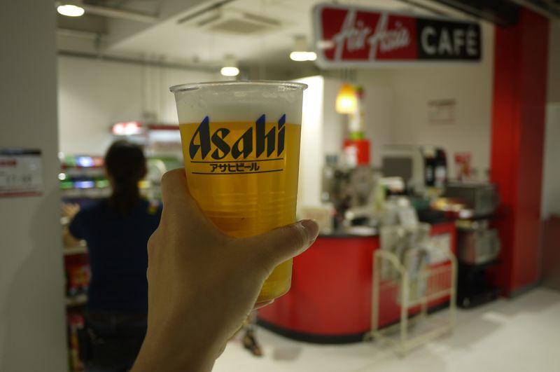 エアアジア,成田,新千歳,空港,ビール