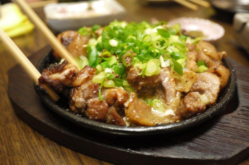 すすきの,澄川,地鶏,味噌,鉄板焼き,エンマン醤油,宮崎