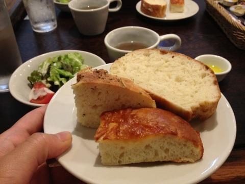 五反田,ファイヤーママ,ランチ,自家製パン