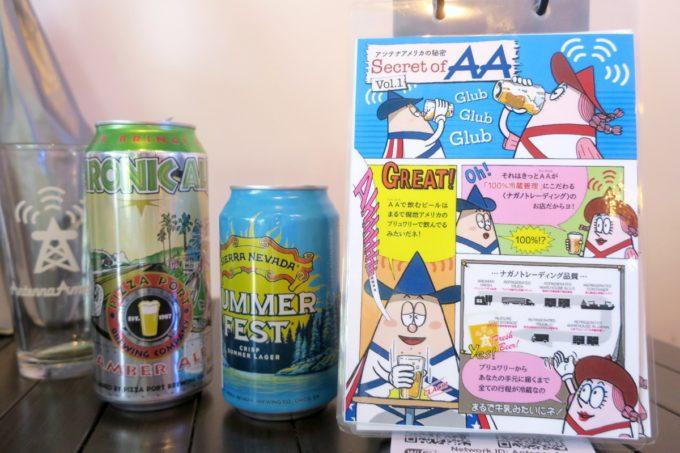 横浜・吉田町「Antenna America Kannai(アンテナアメリカ関内店)」店内にあったPOP
