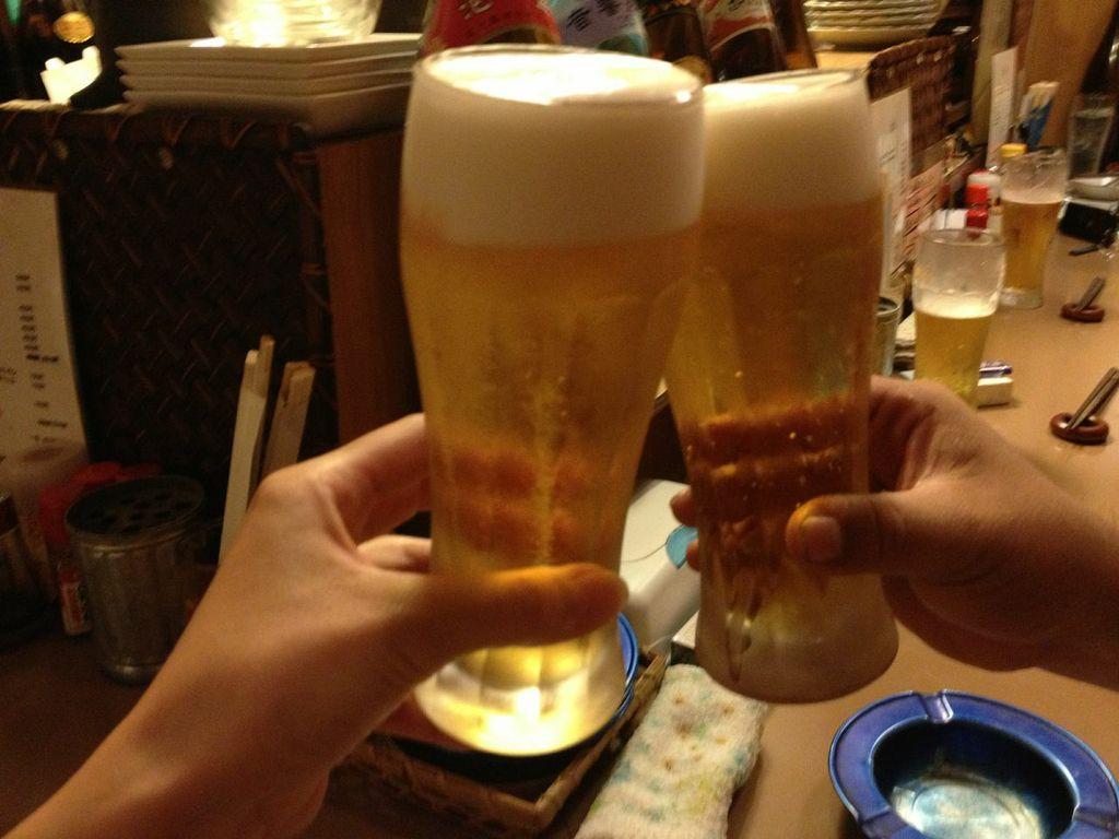 大井町,うずら亭, ビール,平和小路