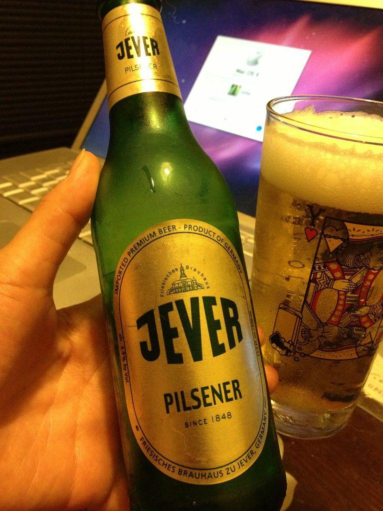イェヴァー,ピルスナー,ビール,ドイツ