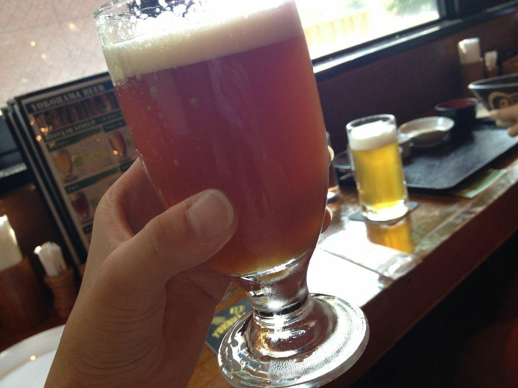 横浜ビール,驛の食卓,ランチ,ビール,IPA