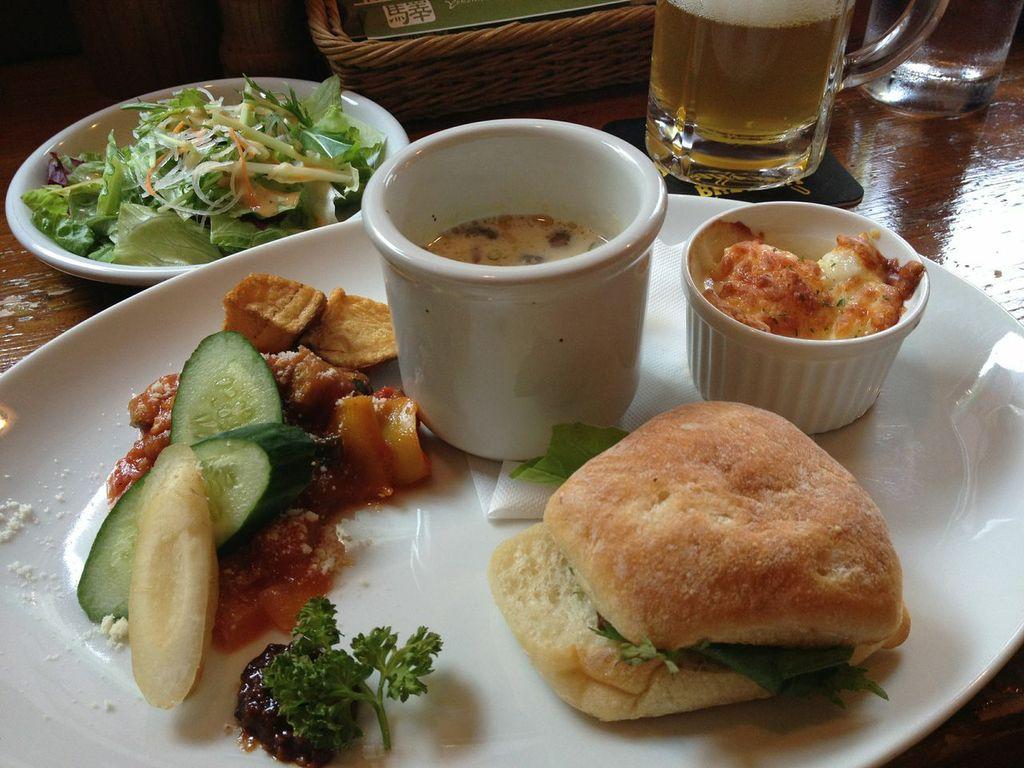 横浜ビール,驛の食卓,ランチ,ビール,ヨコハマプレート