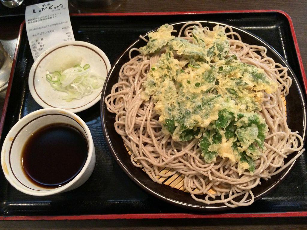 渋谷,しぶそば,立ち食い