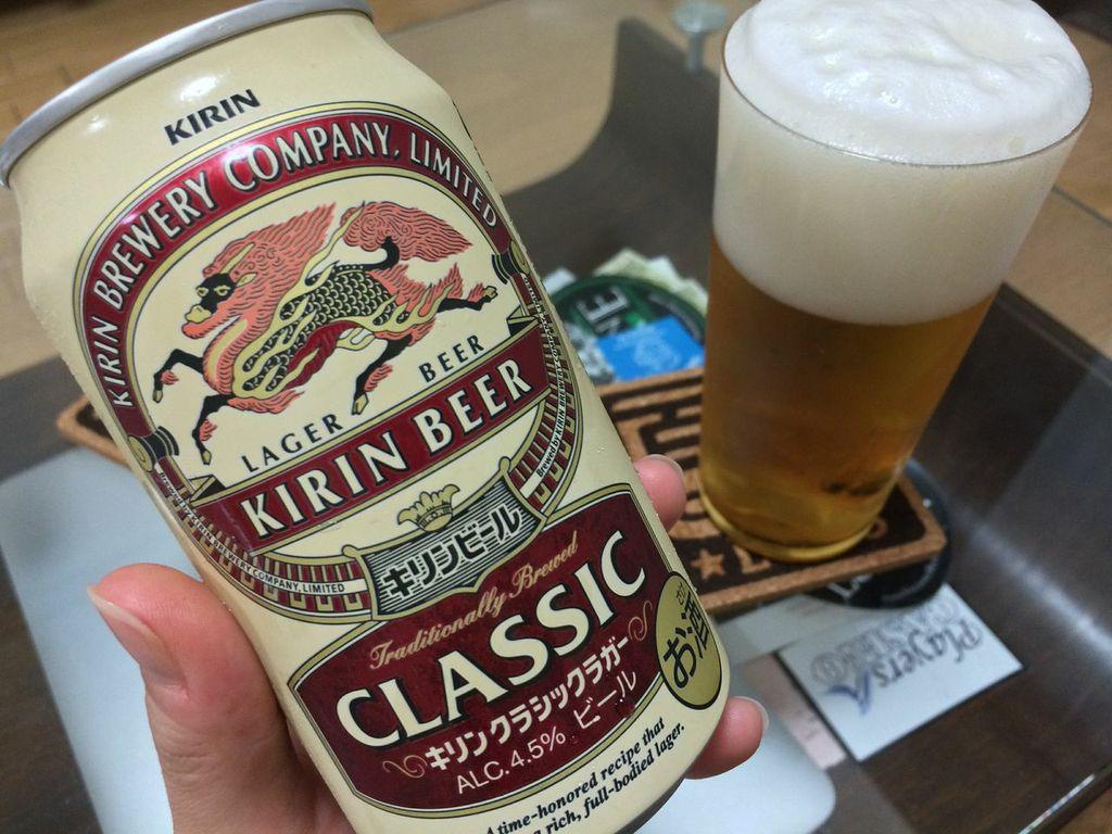 キリン,ビール,クラシックラガー