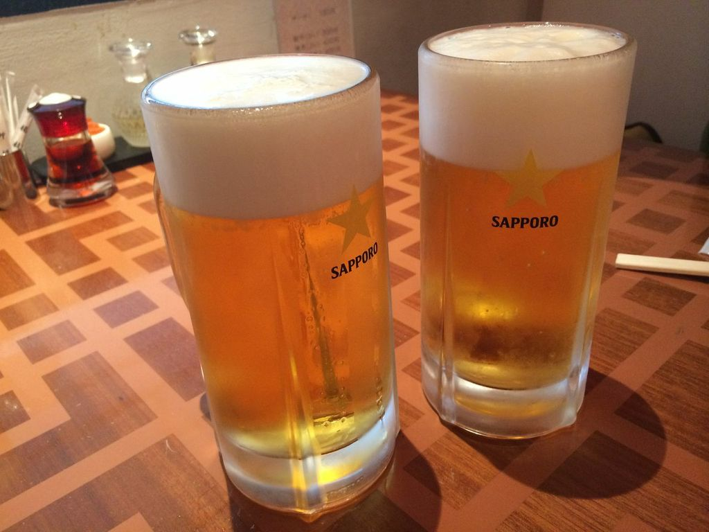 羽田,第2,中華,広東家菜,ビール