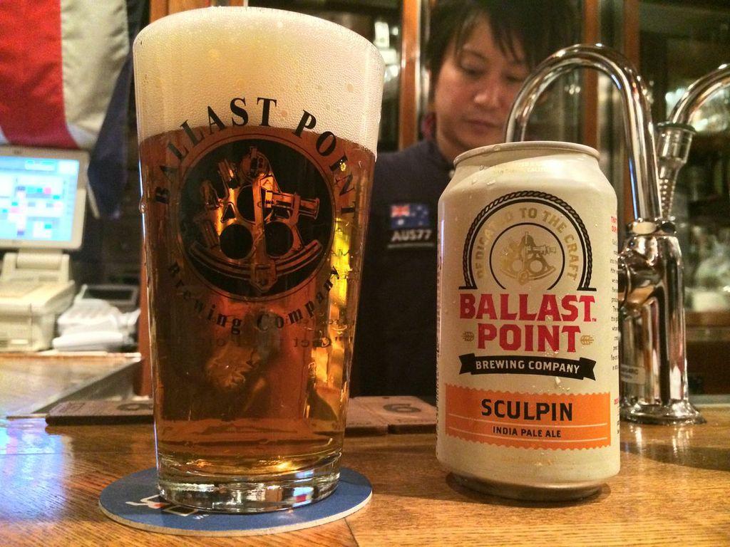 バラストポイント,スカルピン,IPA, ビール