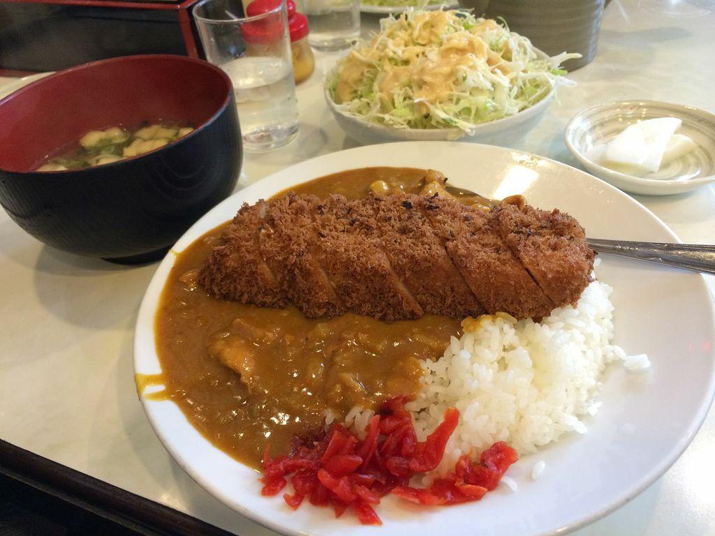 五反田,とん金,ロースカツカレー (2)