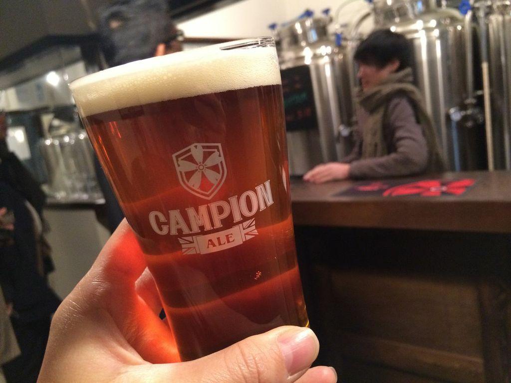 浅草,田原町,カンピオンエール,Campion Ale,ビール