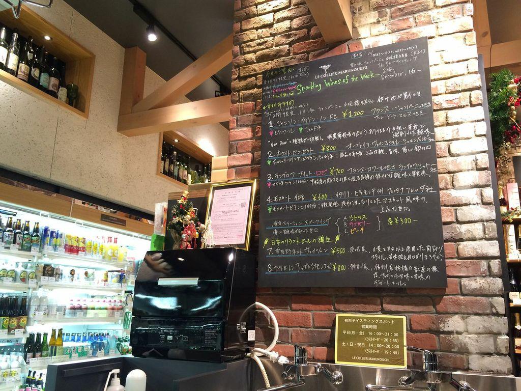 東京駅,丸の内,ビール,LE COLLIER MARUNOUCH,ルコリエ