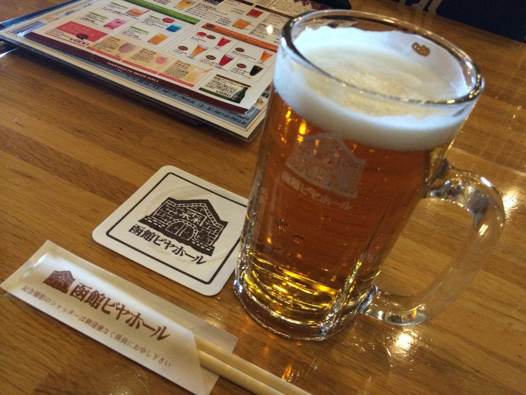 函館ビヤホール ビール
