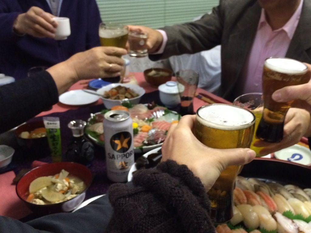 大宴会 乾杯