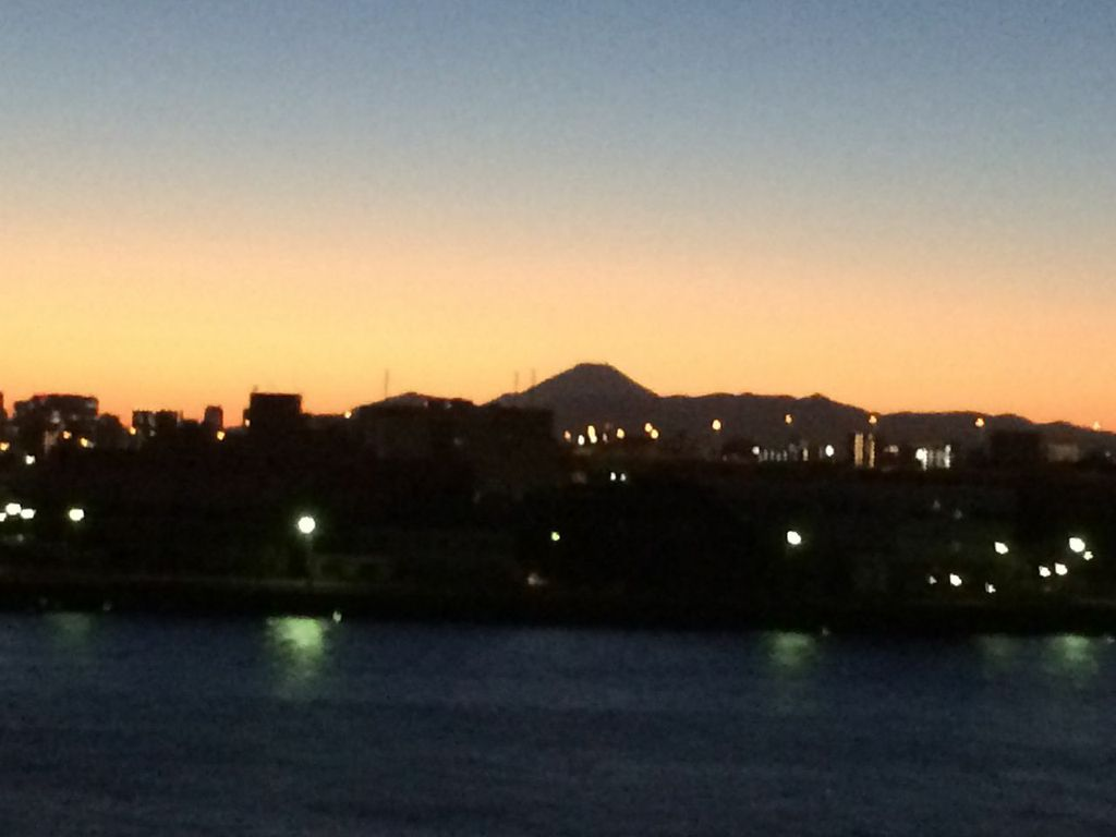 羽田 富士山