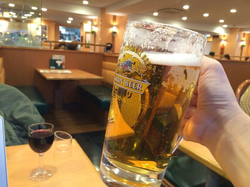 サイゼリア,100円,ワイン,ビール