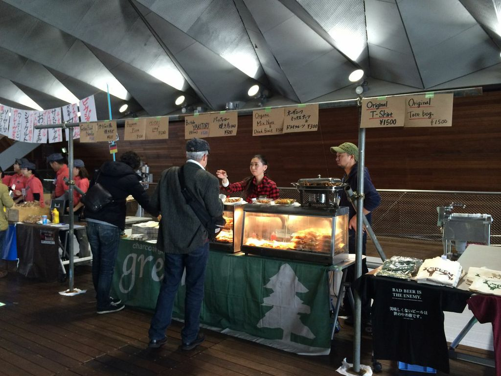 JAPAN BREWERS CUP FESTIVAL,2014,横浜,大桟橋,ビアフェス,charcoal grill green