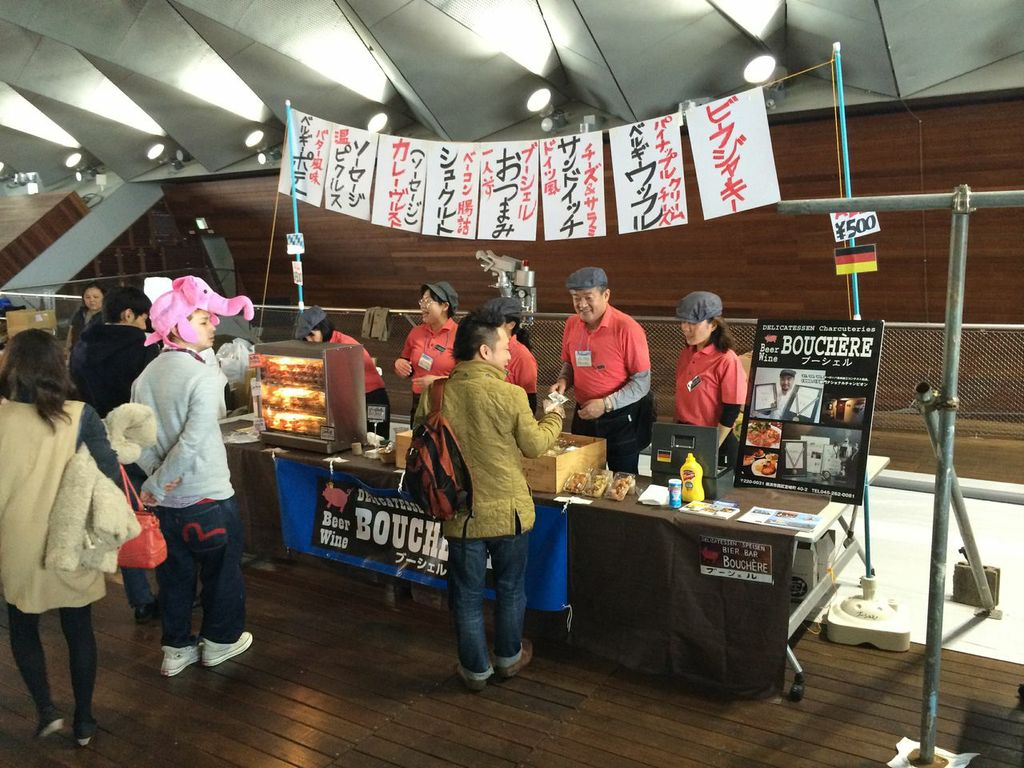 JAPAN BREWERS CUP FESTIVAL,2014,横浜,大桟橋,ビアフェス,ビアバー・ブーシェル