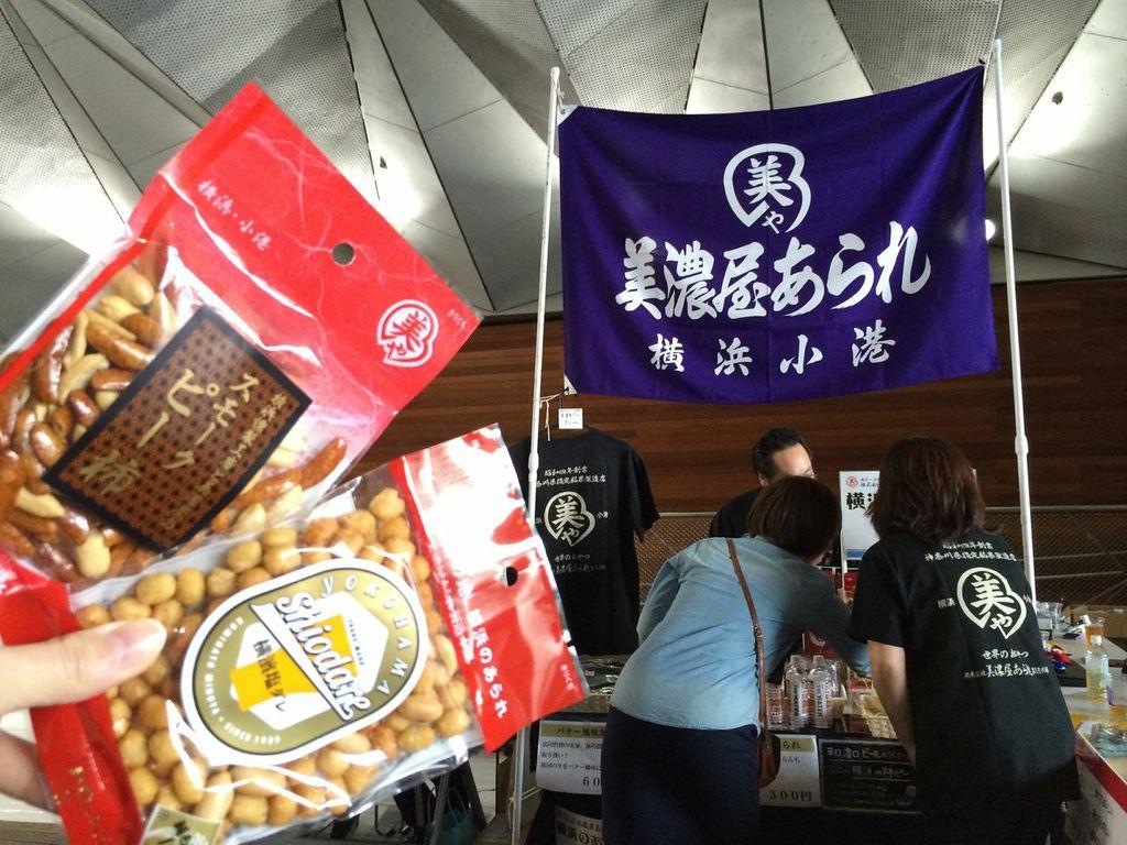 JAPAN BREWERS CUP FESTIVAL,2014,横浜,大桟橋,ビアフェス,美濃屋あられ