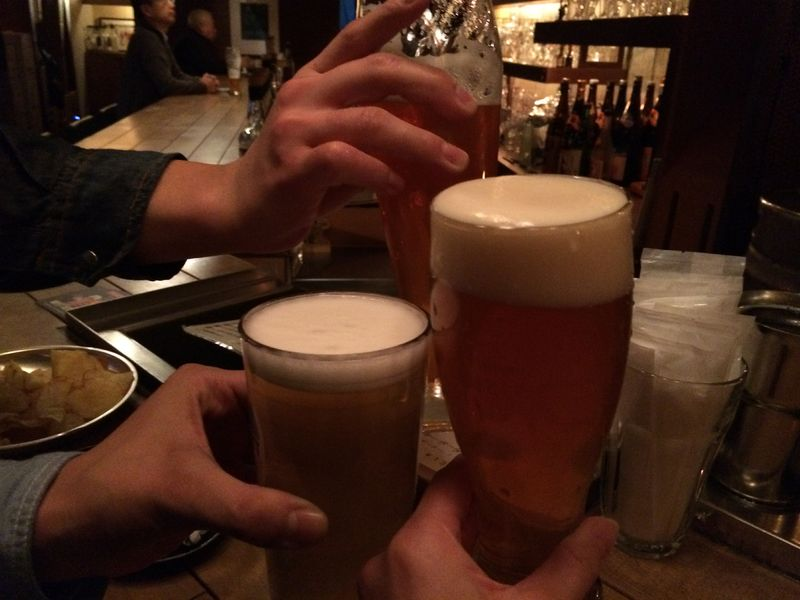 神楽坂,パブクロール,ビール,ビアバービター