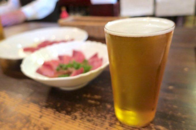 横浜・関内「クラフトビアバー」で飲んだ志賀高原の其の十 アニバーサリーIPA(ハーフパイント、800円)