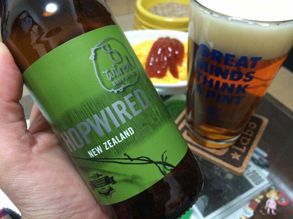 8Wired,HopWiredIpa,ビール,ニュージーランド