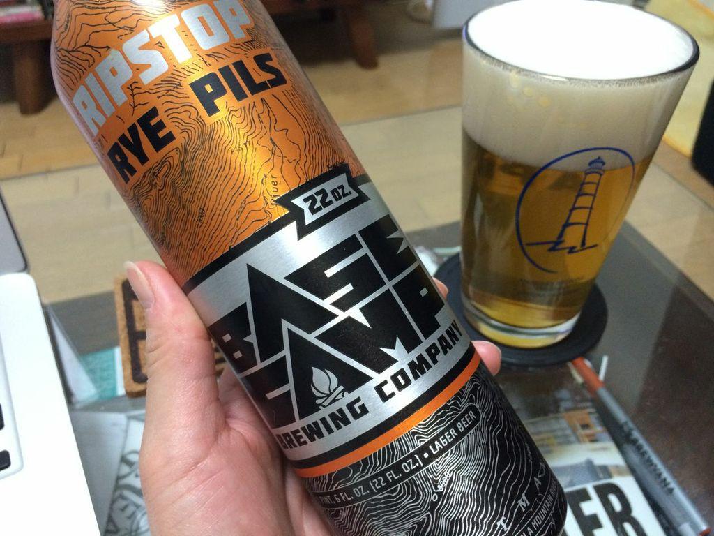 ベースキャンプブルーイング リップストップライピルス ビール