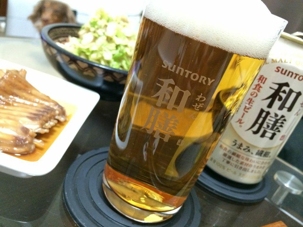 サントリー,和膳,ビール,和食