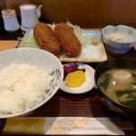 五反田,とりさく,ランチ,定食,クリームコロッケ