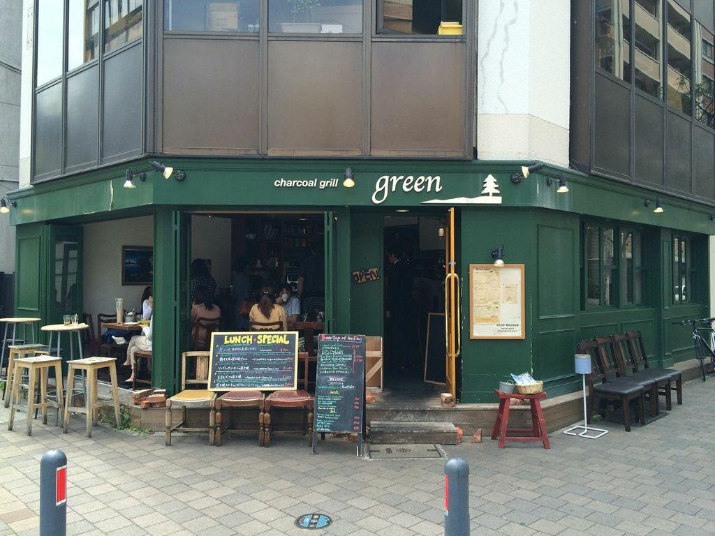 横浜,馬車道,Charcoal Grill green,ランチ,チャコールグリルグリーン