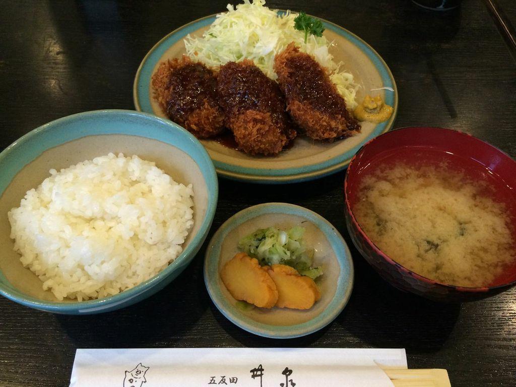 五反田,とんかつ,井泉,ランチ