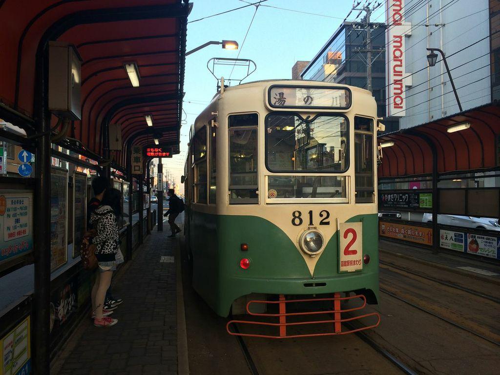函館,路面電車