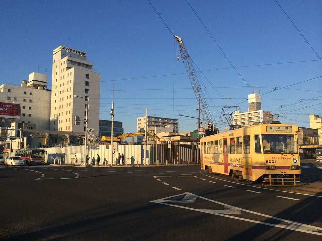 函館駅前,再開発