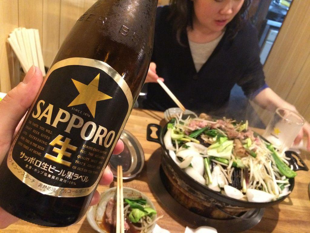 札幌,すすきの,めんよう亭,ジンギスカン,ビール
