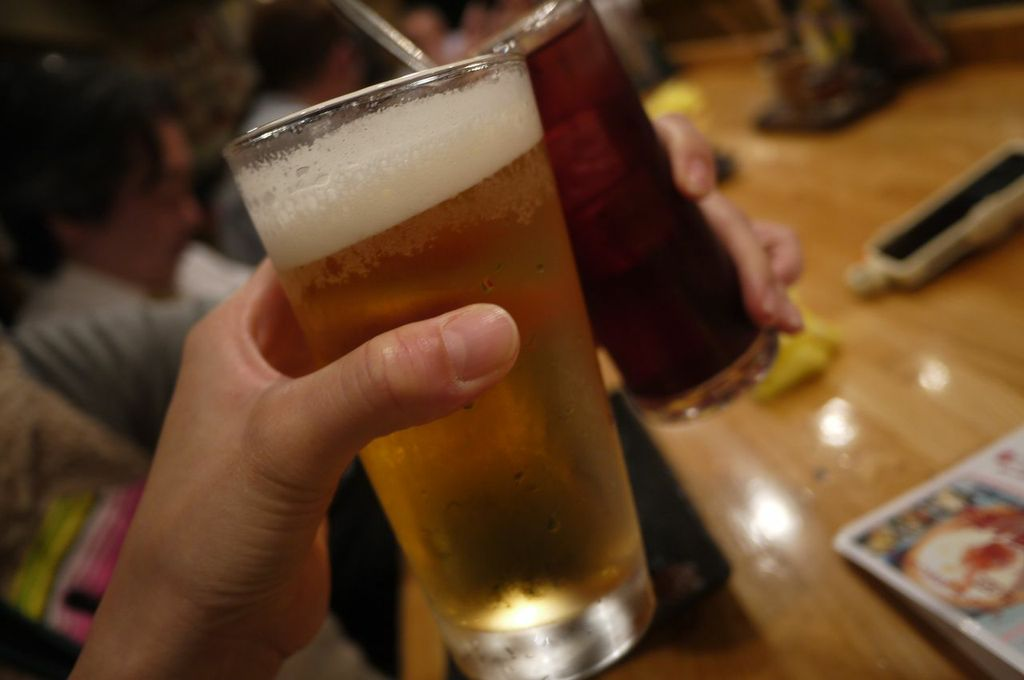 浦安,焼鳥,大好き,ビール