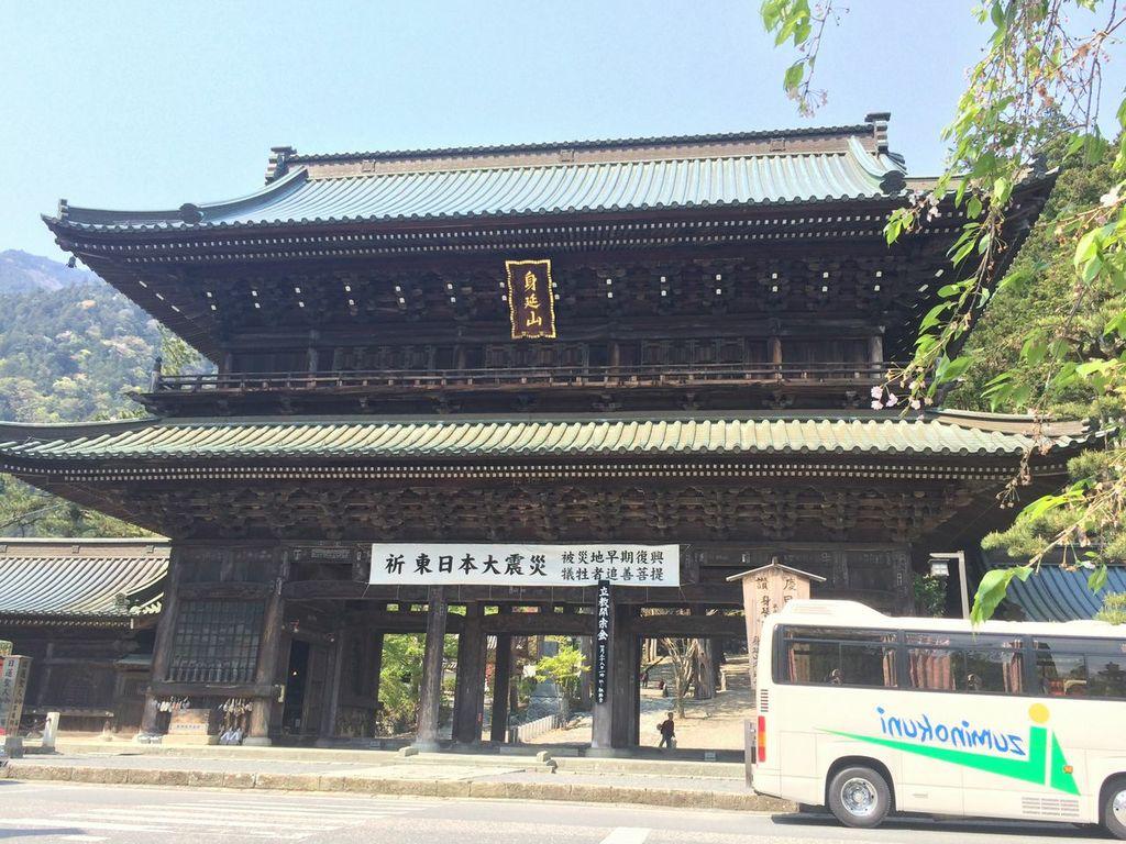 GW,2014,山梨,身延山,久遠寺