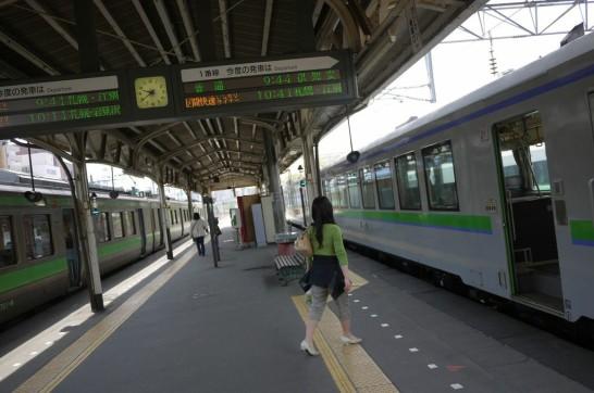 札幌,小樽,余市,乗り換え,JR