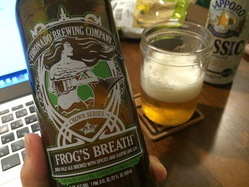 コロナド,フロッグスブレス,IPA,ビール