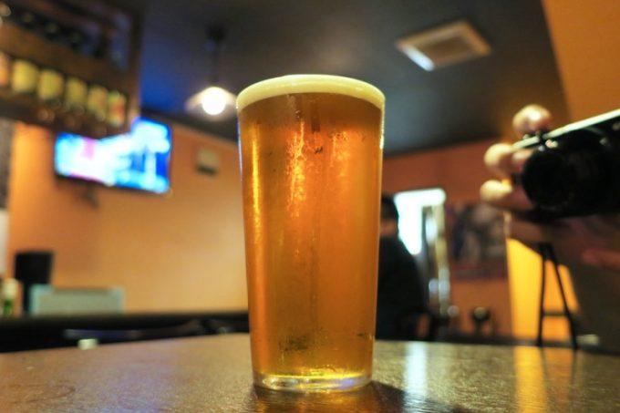 「クラフトビアバルジュン」のクラフトビール(ご主人サマーが飲んだ)