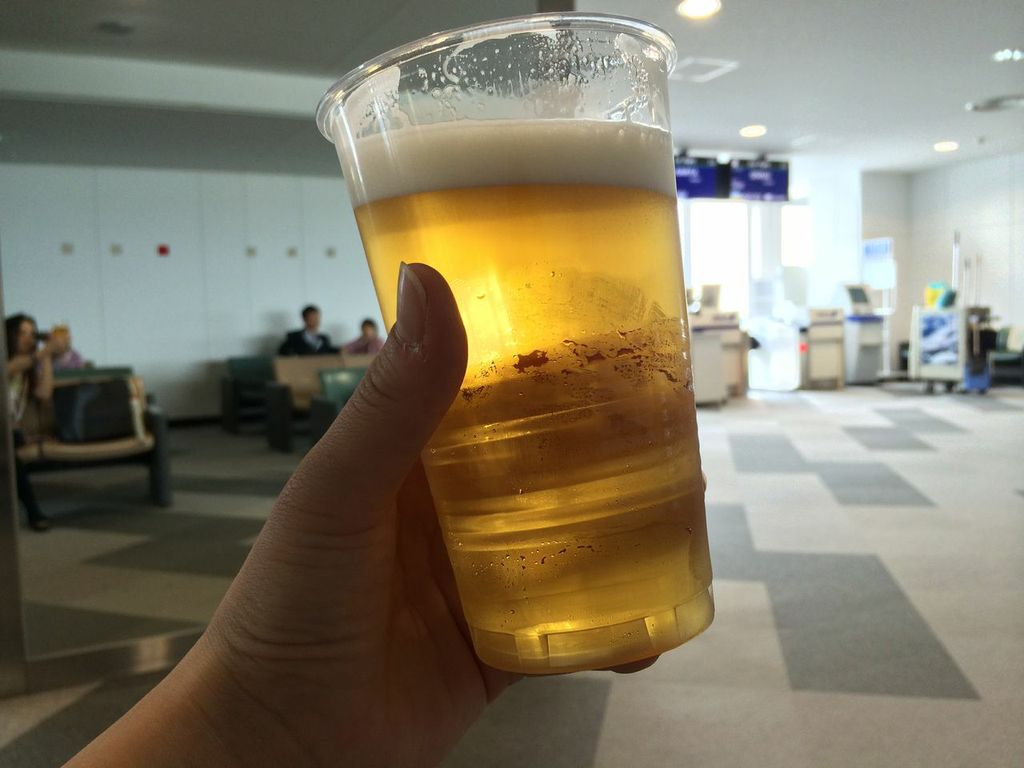 新千歳空港,バニラエア,成田,LCC,サッポロクラシック,ビール