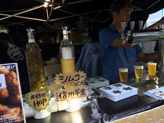 けやきひろば,ビール祭り,さいたま,春,2014