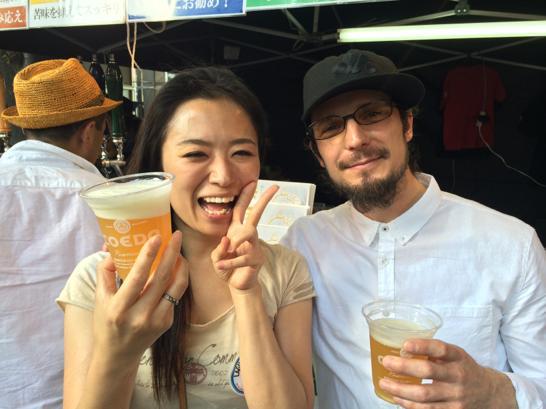 けやきひろば,ビール祭り,さいたま,春,2014,ルーク