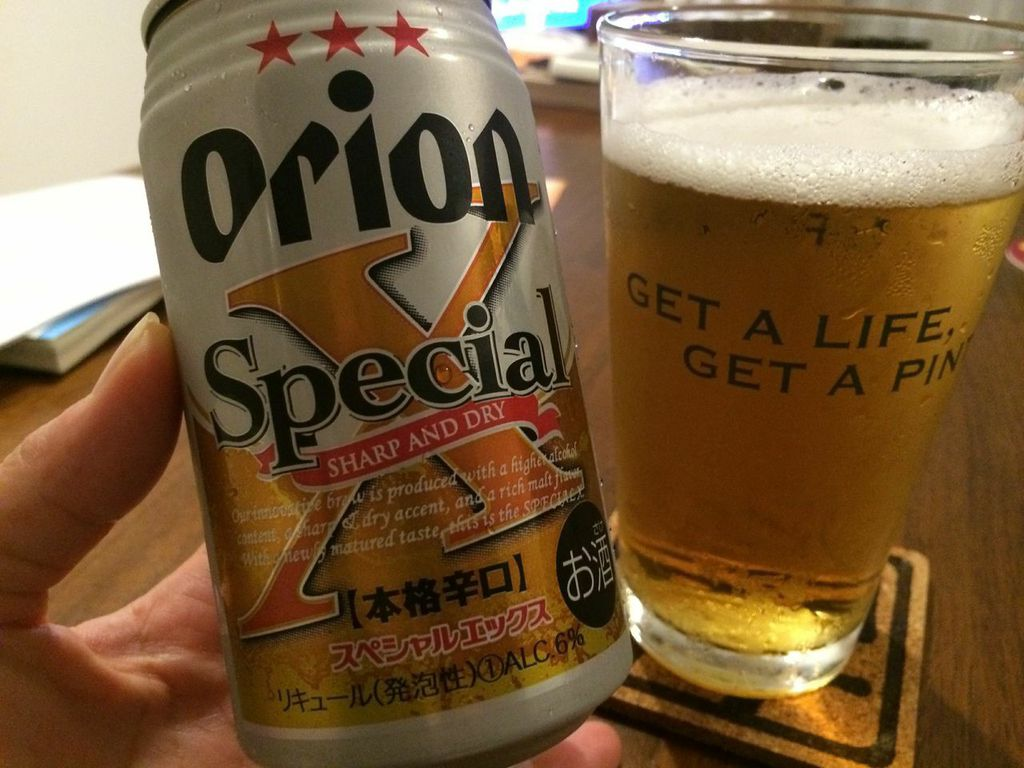 オリオン,ビール,スペシャルX