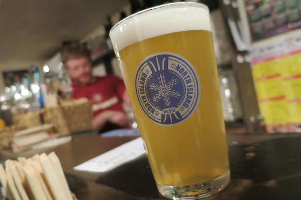 札幌,二条市場,Beer Bar,NORTH ISLAND,ビアバー,ノースアイランド,クラフトビール
