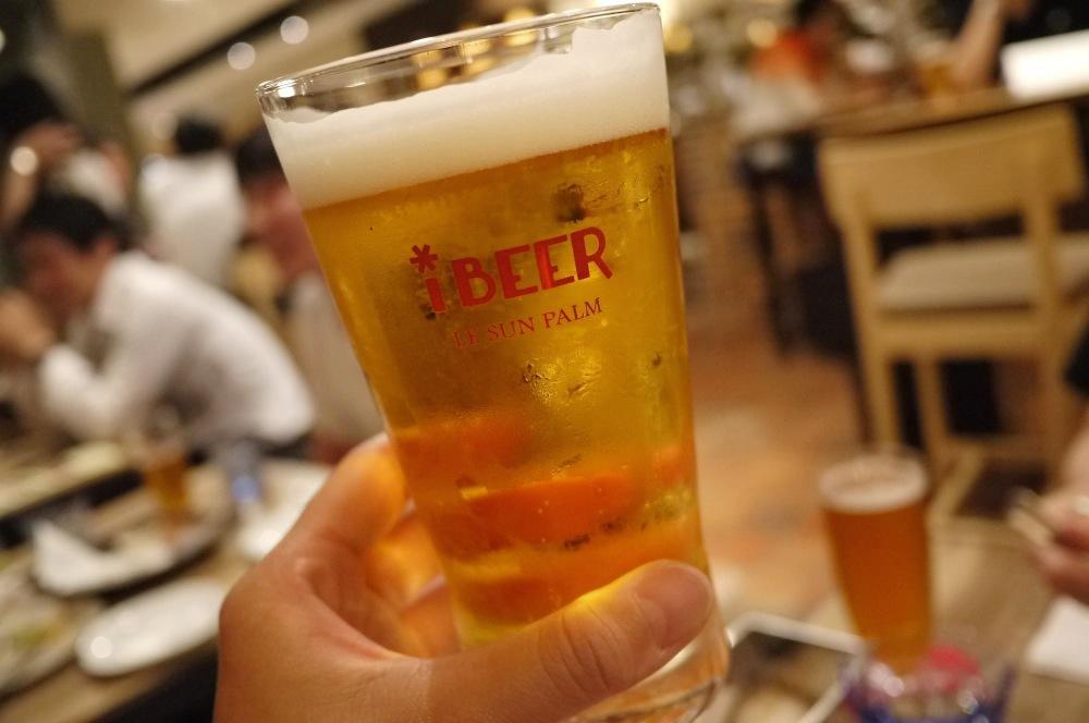 渋谷,ヒカリエ,iBeer LE SUN PALM,アイビアー,ルサンパーム,ビール,女子,カフェ