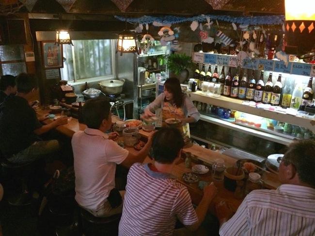 那覇,牧志,国際通り,山羊,さかえ,一人飲み,ビール