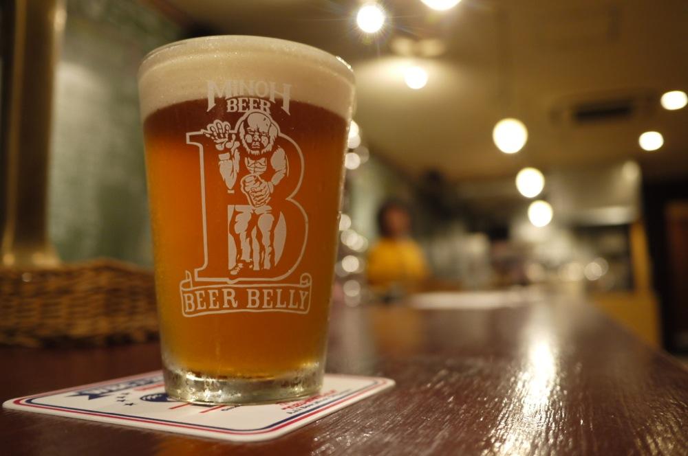 大阪,箕面ビール,ビアベリー,天満,ビアバー,BEER BELLY,ビール