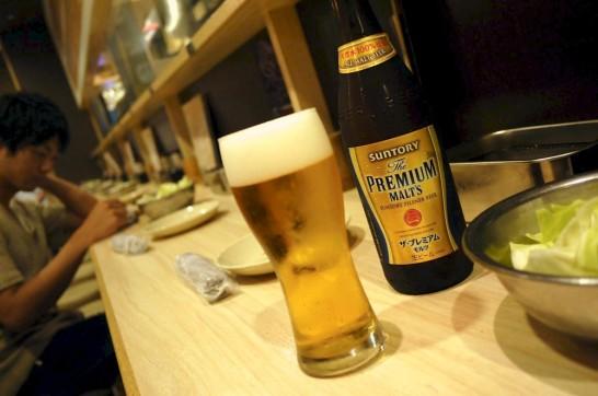 大阪,梅田,Lucua,ルクア,串かつ,だるま,ビール