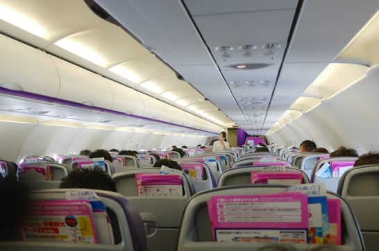ピーチ,LCC,那覇空港,関西国際空港