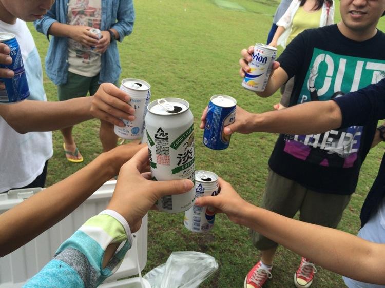 美々ビーチ,沖縄,糸満,ビーチパーティー,ビール