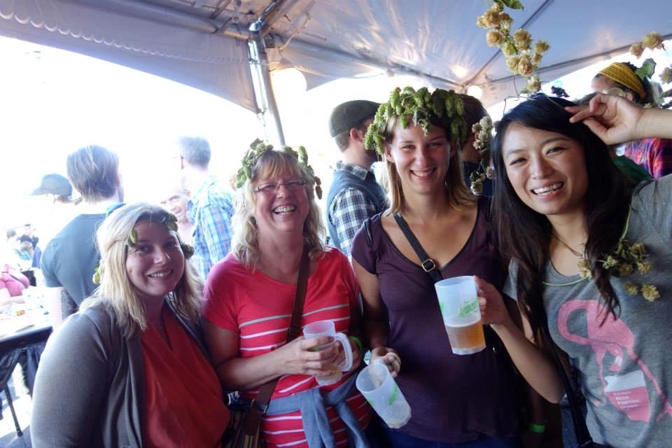 オレゴン,フッドリバー,フレッシュホップフェスト,2014,ビール